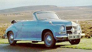 Rover P4 95 Кабрио 2