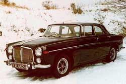 Rover P5snow