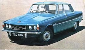 Rover P6 Blue